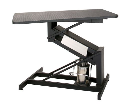 Animal Lift Table With Scale : Petlift masterlift hydraulic pet grooming table fixed top