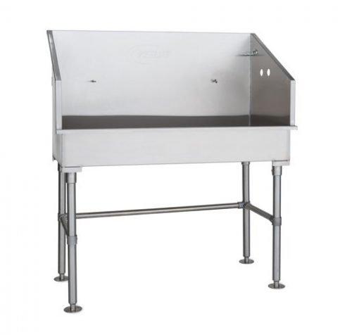 PetLift Rascal Bath Stainless Steel Pet Grooming Tub