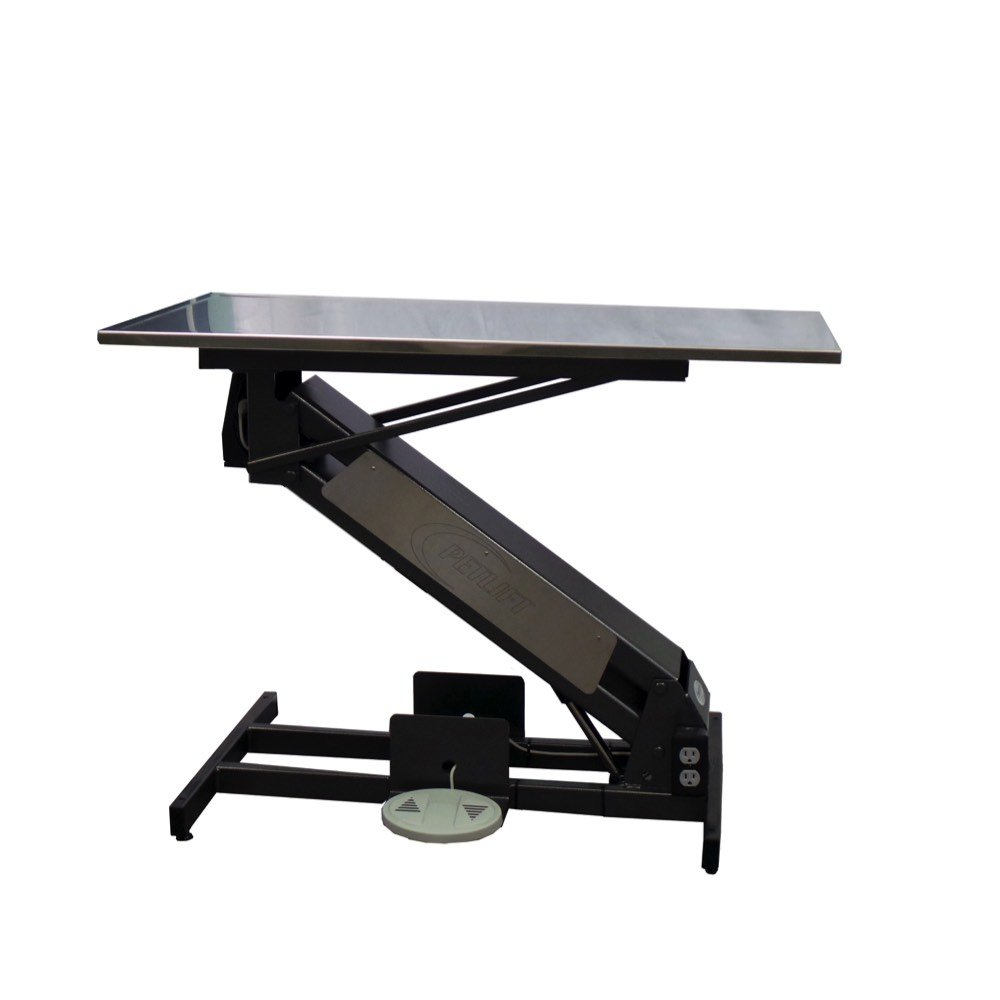 Animal Lift Table With Scale : Vetlift low max electric exam table