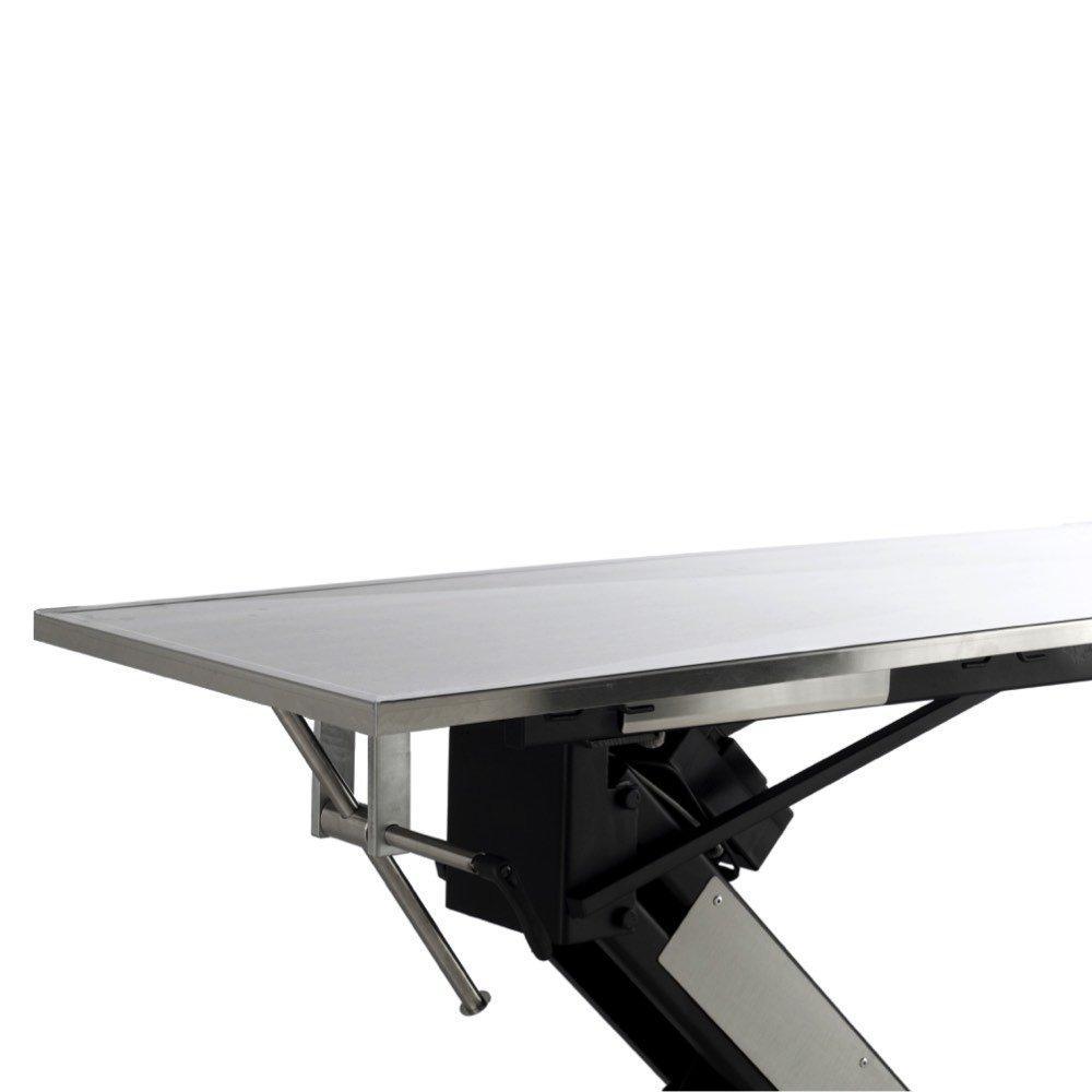 Vetline hydraulic foot pump surgery table vetline economy hydraulic surgery table with stainless steel tilt top geotapseo Gallery