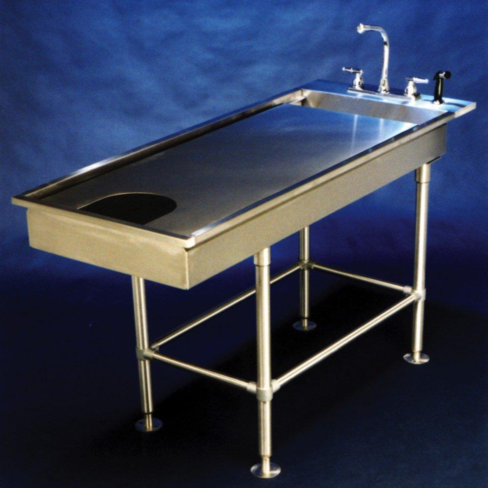 VetLine Economy Low Profile Tub Table - 60 Inch Long 15 Inch Deep