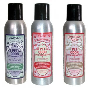 Pet Odor Exterminator Air Freshener Spray